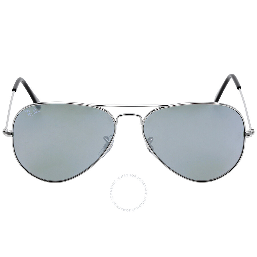 Ray Ban Aviator Silver Mirror Sunglasses RB3025 W3277 58-14 ...