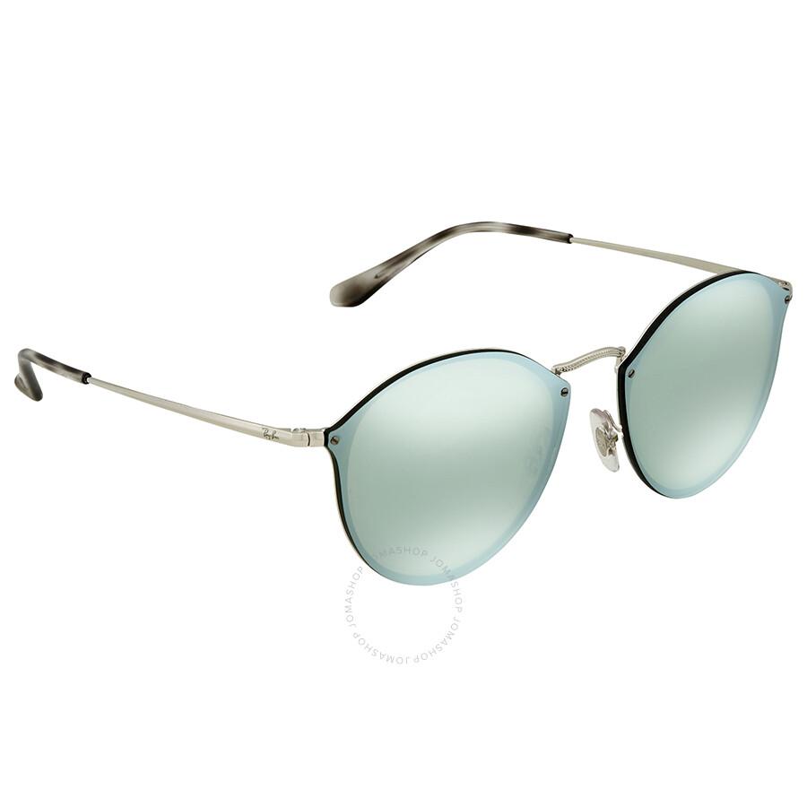 Ray-Ban Blaze Sonnenbrille Silber 003/30 58mm QtTpLwHWH5