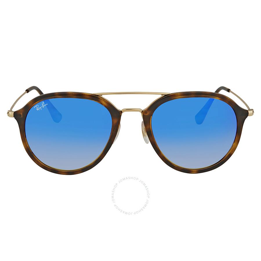 e6a21543fe ... gold blue flash fade mirror new order ray ban blue gradient round  sunglasses rb4253 710 8b 53 a3c52 b70c4 ...