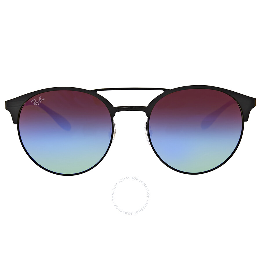 2d92eb09bf ... italy ray ban blue violet gradient lenses round sunglasses 277b9 40270