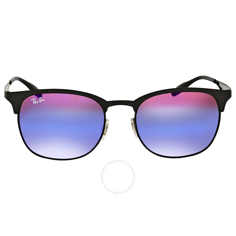 98638ce3ce ... sweden ray ban blue violet gradient mirror metal sunglasses b858c 87d13