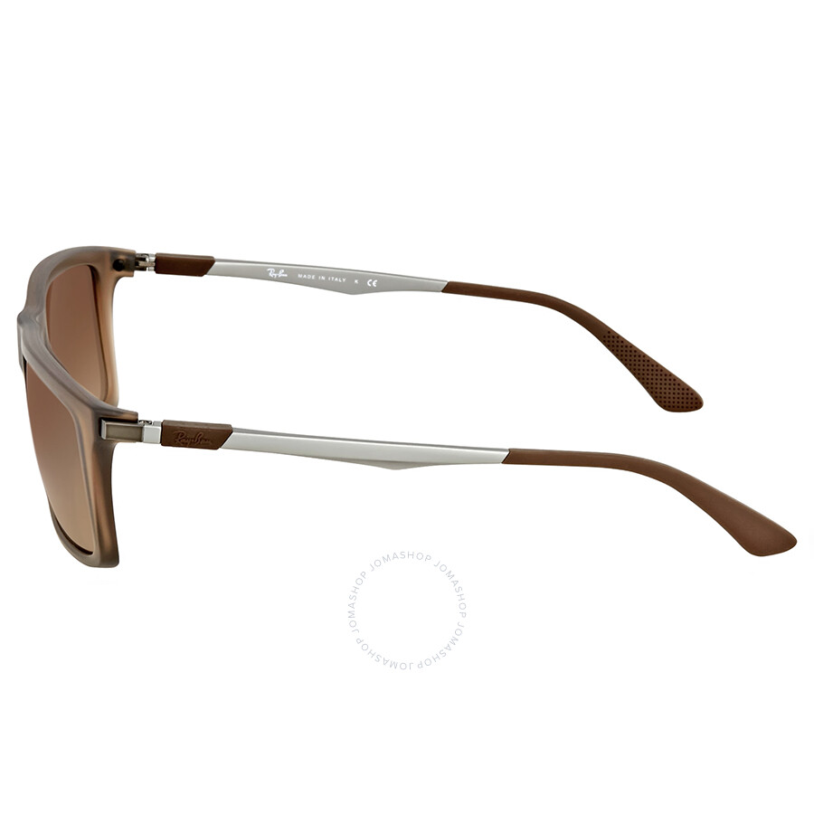 483331a3889 ... coupon for ray ban brown gradient rectangular sunglasses acfba 03522