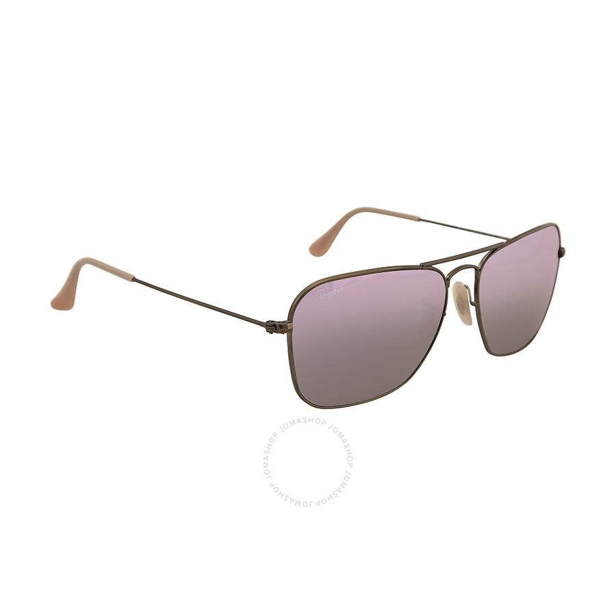 ... inexpensive ray ban caravan lilac mirror flash lenses sunglasses rb3136  58 167 4k 092f1 1302a eed0782c71e6