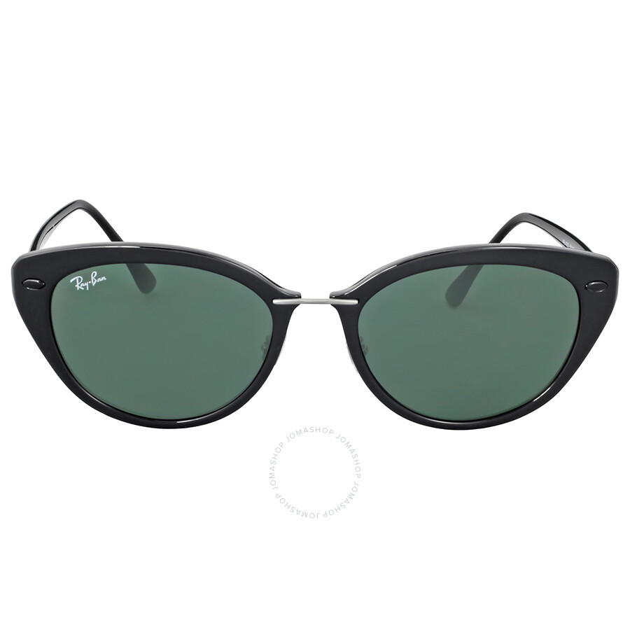 Ray-Ban Cat Eye Green Classic Sunglasses - Round - Ray-Ban ...