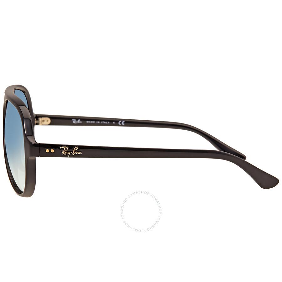 Ray Ban Cats 5000 Light Blue Gradient Men\'s Sunglasses RB4125 601/3F ...
