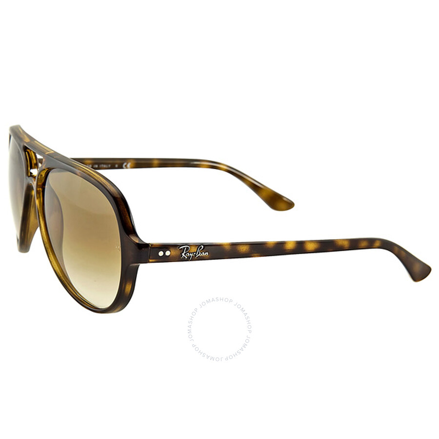 4d278f9942757 low cost ray ban cats aviator light brown gradient sunglasses rb4125 710 51 59  13 09968