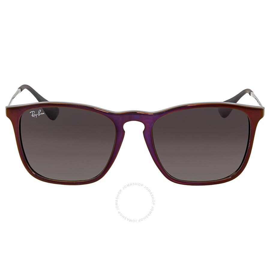 d8ce314f80 Ray Ban Chris Grey Gradient Square Mens Sunglasses RB4187 631611 54