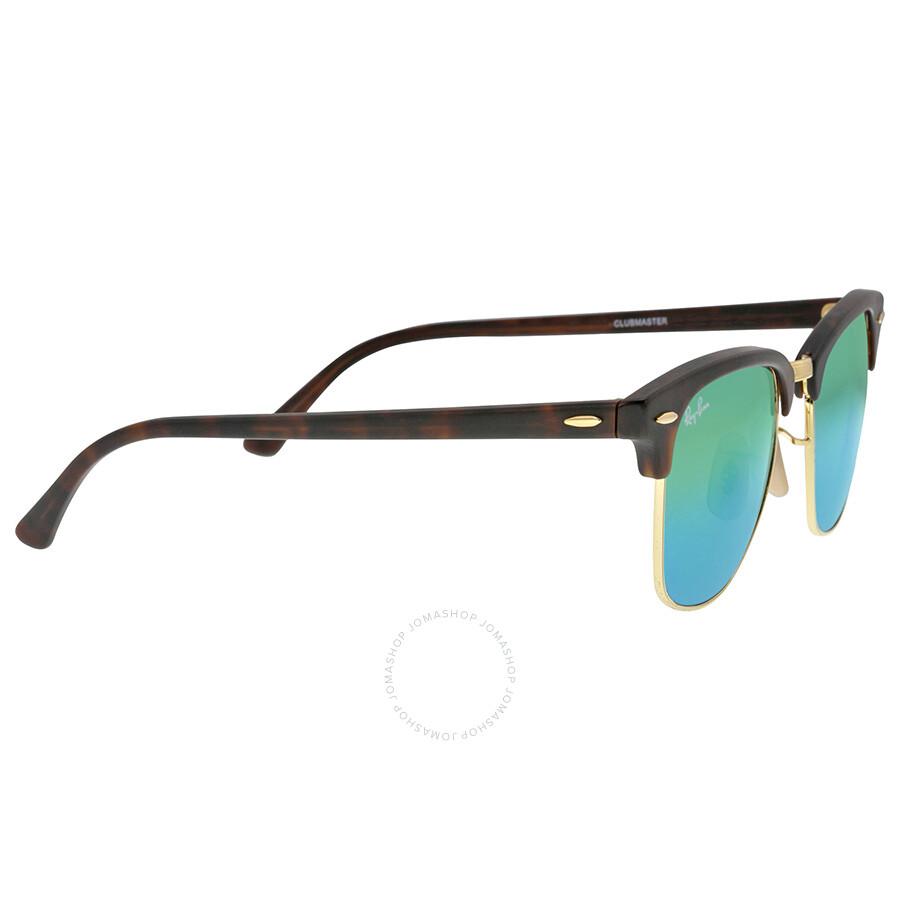 d9fd2edc391b uk ray ban classic clubmaster green flash lenses tortoise shell plastic  frame mens sunglasses rb3016 cad12