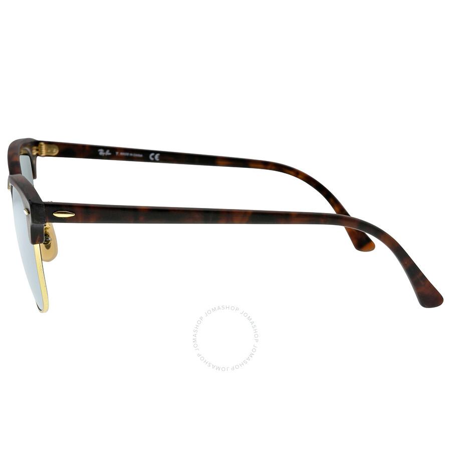 15034e2997 ... low price ray ban clubmaster flash lenses mens sunglasses rb3016 114530  51 21 6963e 317e6