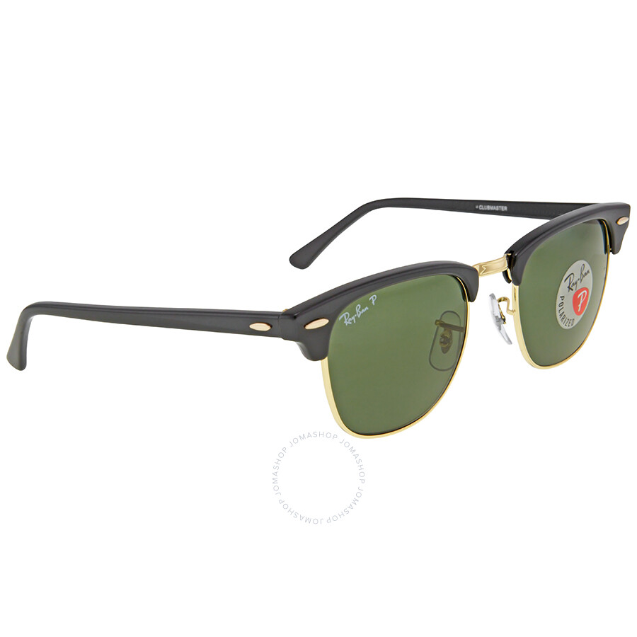 dd70ba147b wholesale ray ban clubmaster classic polarized green classic g 15 sunglasses  rb3016 901 58 49 d2d52