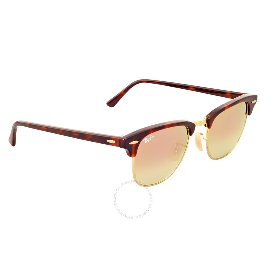 ... denmark ray ban clubmaster copper gradient flash sunglasses rb3016 990  7o 49 662b5 223cb ... ad8a9ef18e