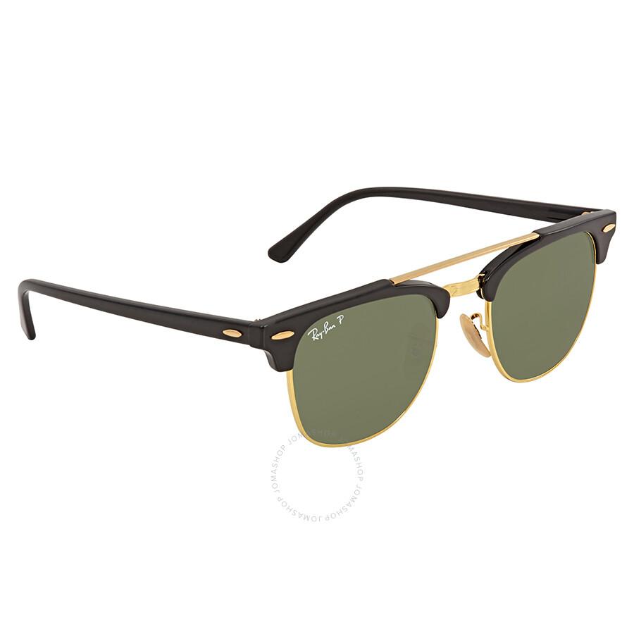9ab52ad1de ... canada ray ban clubmaster doublebridge green square sunglasses rb3816  901 58 51 1a5cd 70001