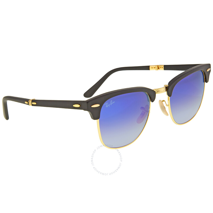 ab740b68f ... inexpensive ray ban clubmaster folding blue gradient flash sunglasses  rb2176 901s7q 51 8c2f1 25faa