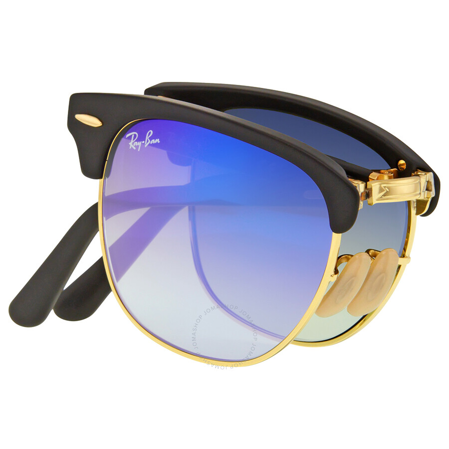 36e097723e8 ... inexpensive ray ban clubmaster folding blue gradient flash sunglasses  rb2176 901s7q 51 bd8d1 3d5f1