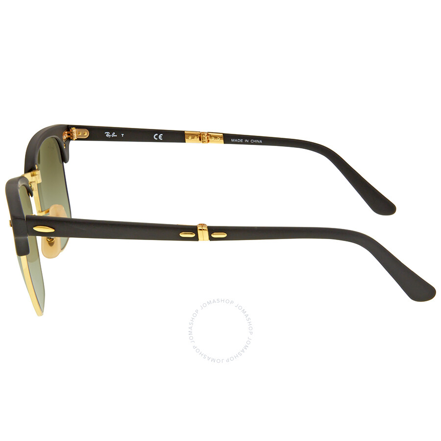 55ce8c623c4 ... coupon code for ray ban clubmaster folding green gradient flash sunglasses  rb2176 901s9j 51 20b9c 2cefc