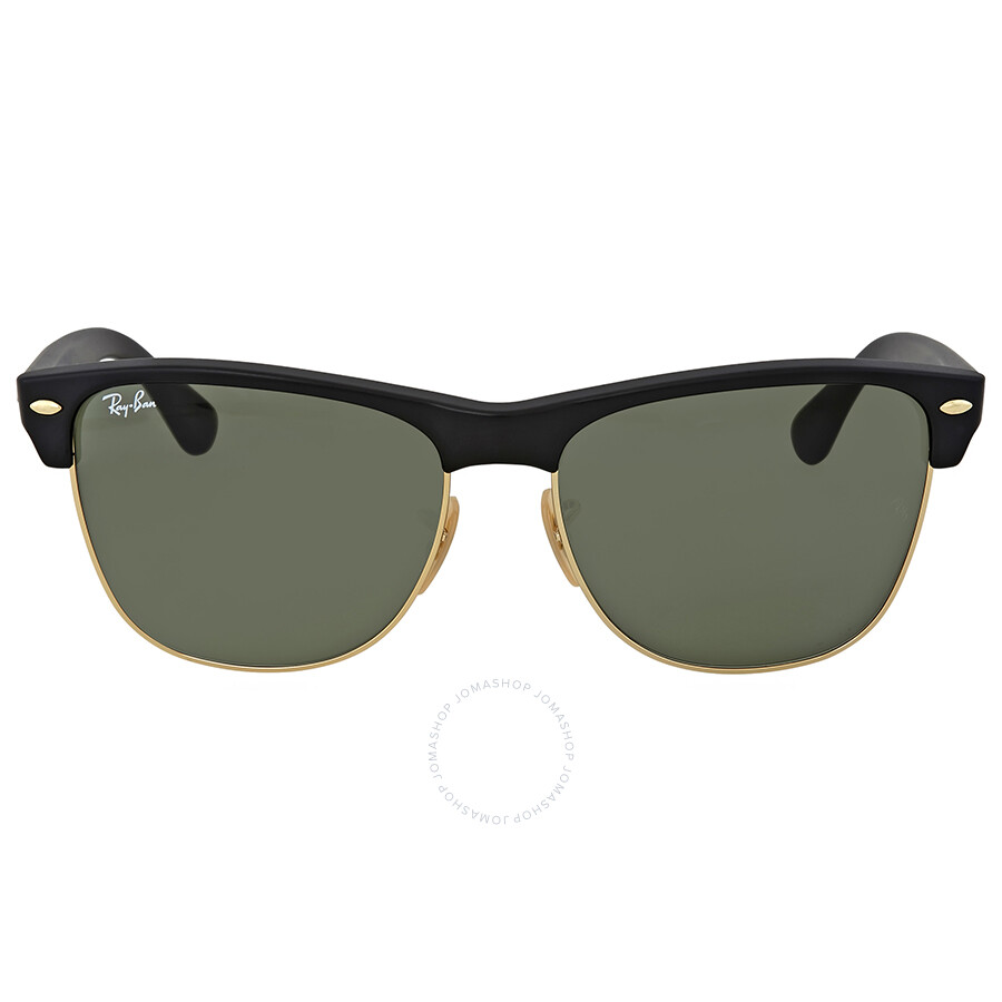 Ray-Ban Clubmaster Green G-15 Lens Sunglasses - Clubmaster - Ray-Ban ...