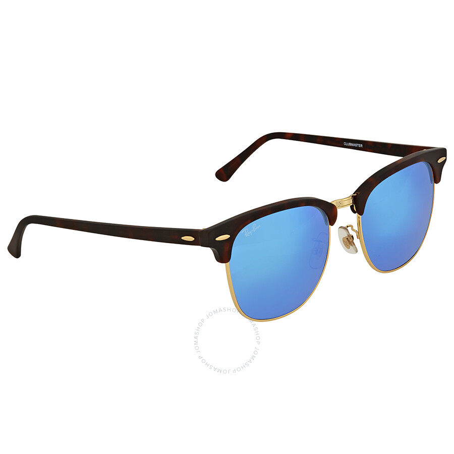 597770b208 ... sale ray ban clubmaster grey blue mirror sunglasses 519e5 2cf91