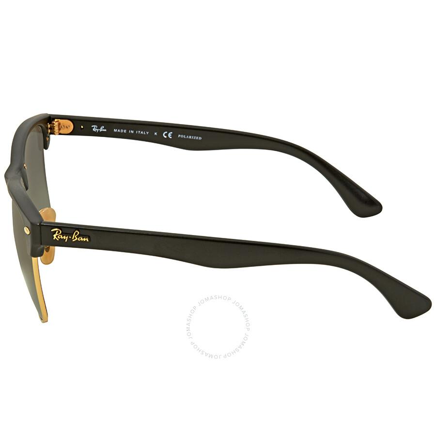 c91076d524a35 ... inexpensive ray ban clubmaster grey gradient square polarized mens sunglasses  rb4175 877 m3 57 e3fda 428ad