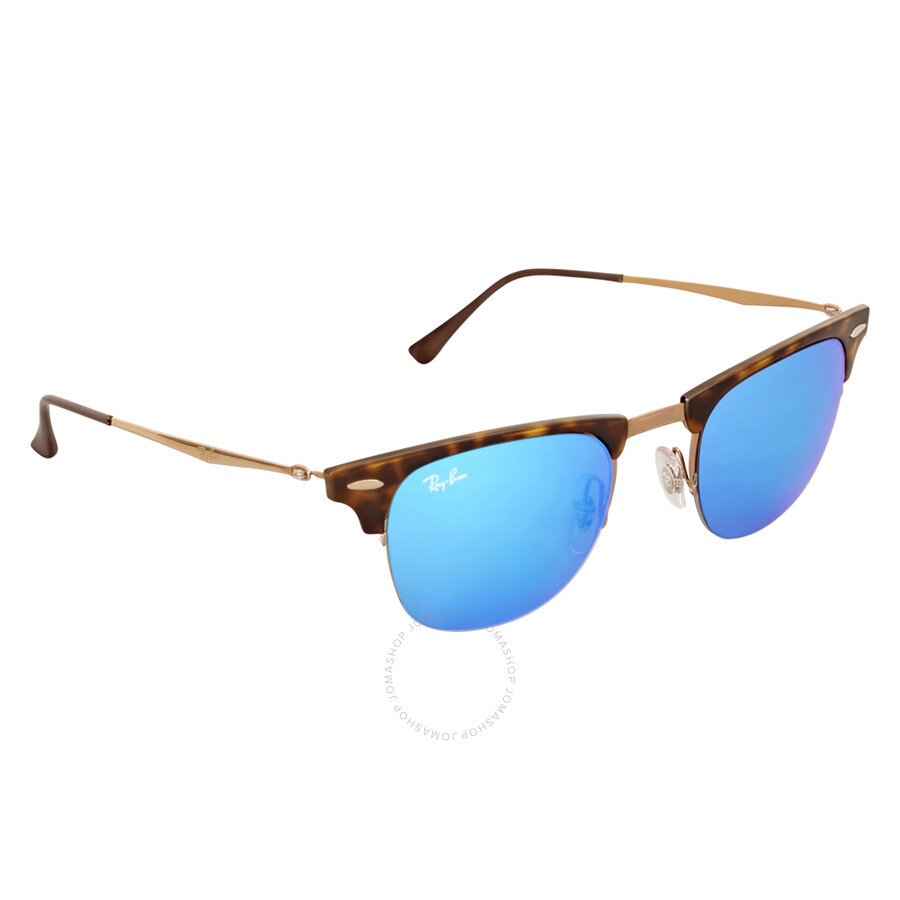 ray ban clubmaster light ray blue