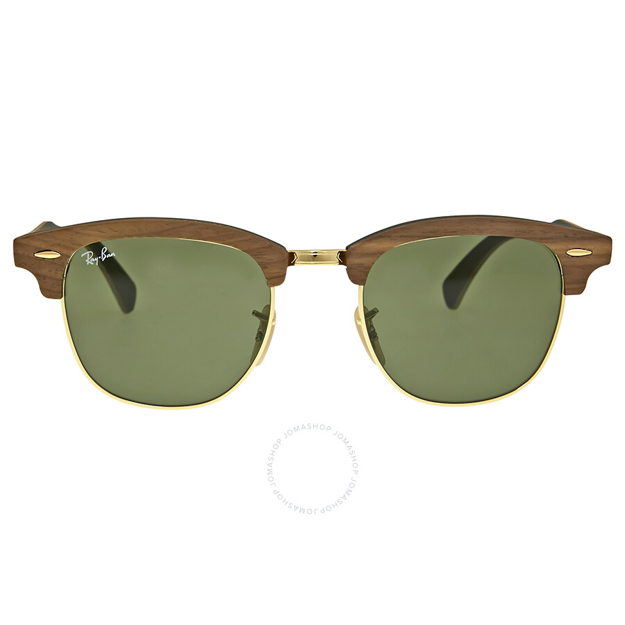 26543484382f6 ... promo code for ray ban clubmaster wood green classic sunglasses 5d2bb  0503e