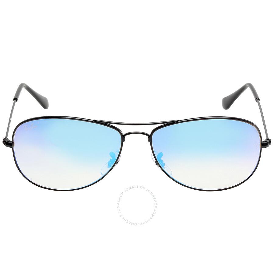 076935a33b9a4 ... uk ray ban cockpit blue gradient flash sunglasses rb33620024o59 c68e4  a7d92