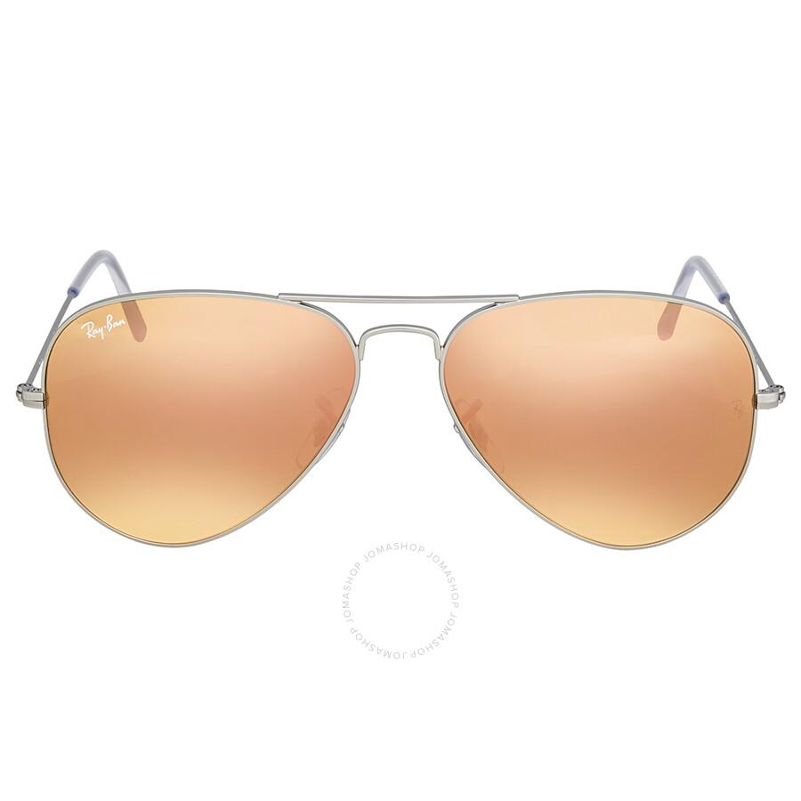 5b5422c22d42e Ray Ban Copper Flash Aviator Sunglasses