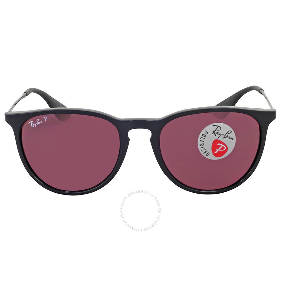 Ray Ban Erika Polarized Violet Mirror Sunglasses Erika