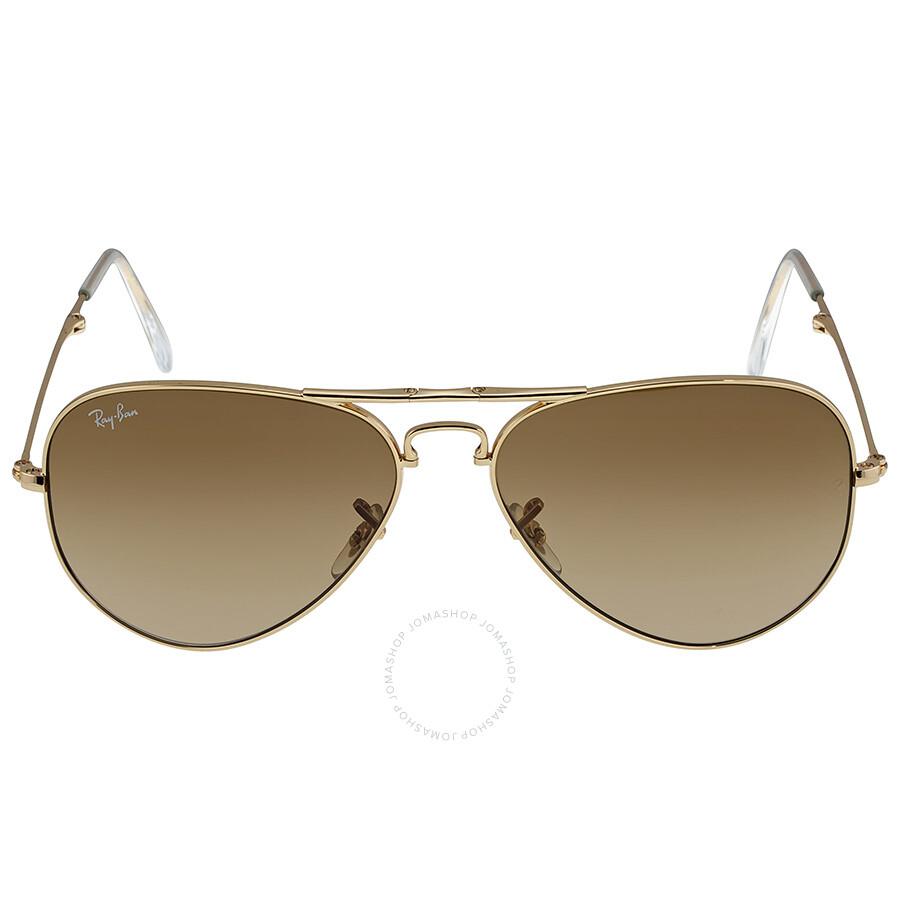 a4cc6d9e852 ... best ray ban folding aviator arista brown 58mm sunglasses rb3479 001 51  58 17 bb816 5bde0