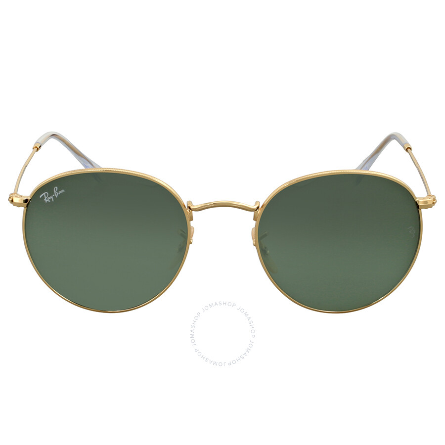 b535add5e ... real ray ban green classic g 15 round metal sunglasses 4548a 72895