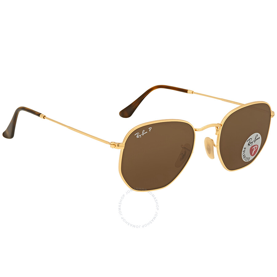 Ray Ban RB 3548N Hexagonal Gold 001/57 51 70A6w