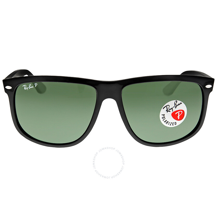 Ray-Ban Highstreet Black Nylon Frame Sunglasses RB4147-601-58-60 ...
