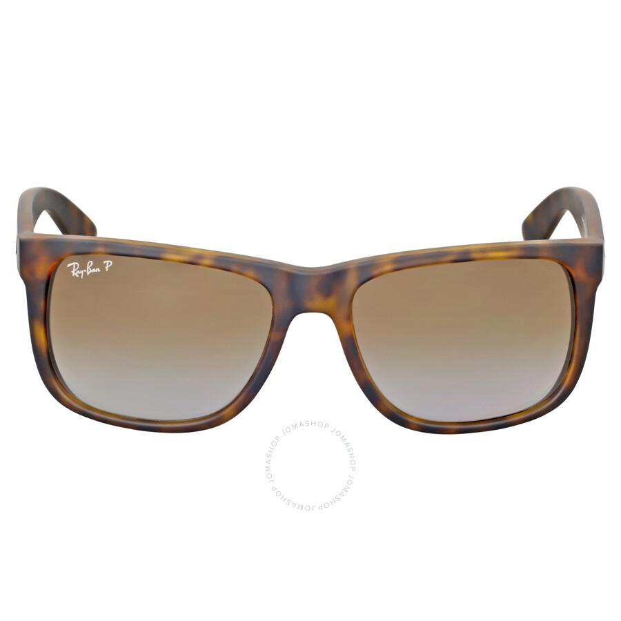 79f14f4a970 ... promo code for ray ban justin classic polarized tortoise sunglasses  rb4165 865 t5 55 e941a b08b3