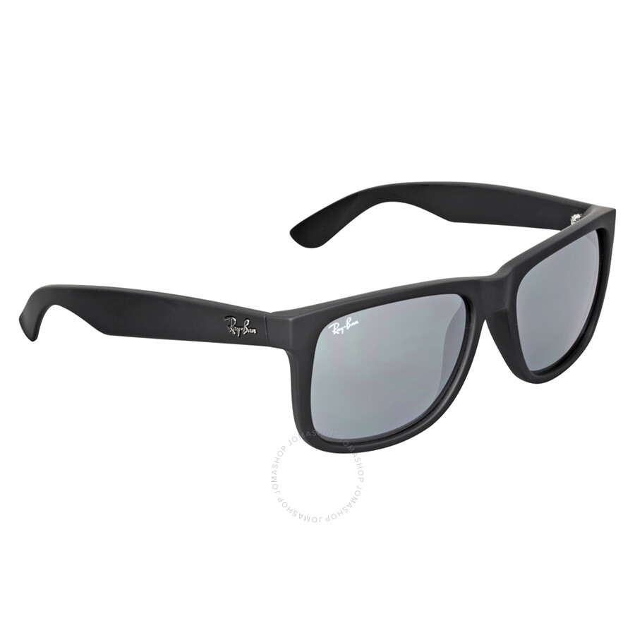 Ray-Ban Justin Sonnenbrille Schwarz 622/6G 55mm vWOnTG