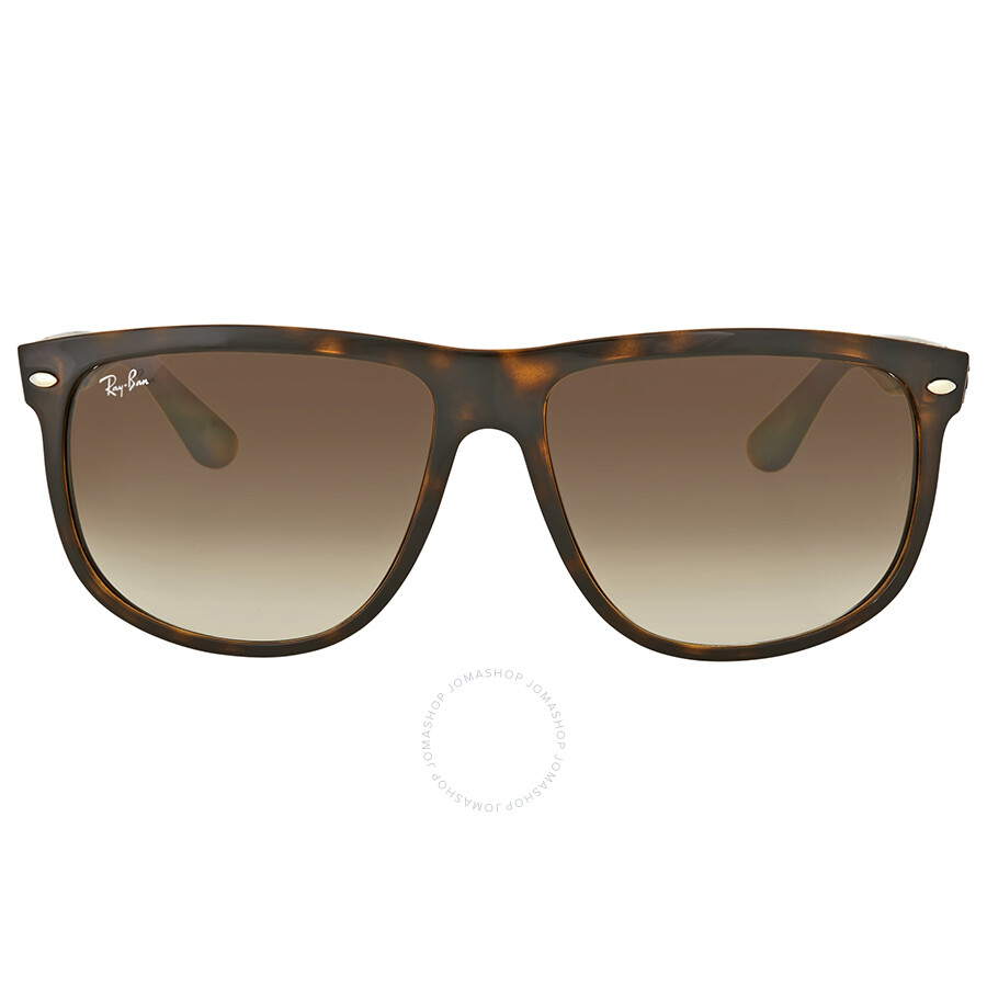 9d5cc75aa70ba sale shop ray ban unisex rb 4147 flat top boyfriend 601 32 sunglasses black free  shipping today overstock 10540105 a5b8d 52967  cheapest ray ban light brown  ...