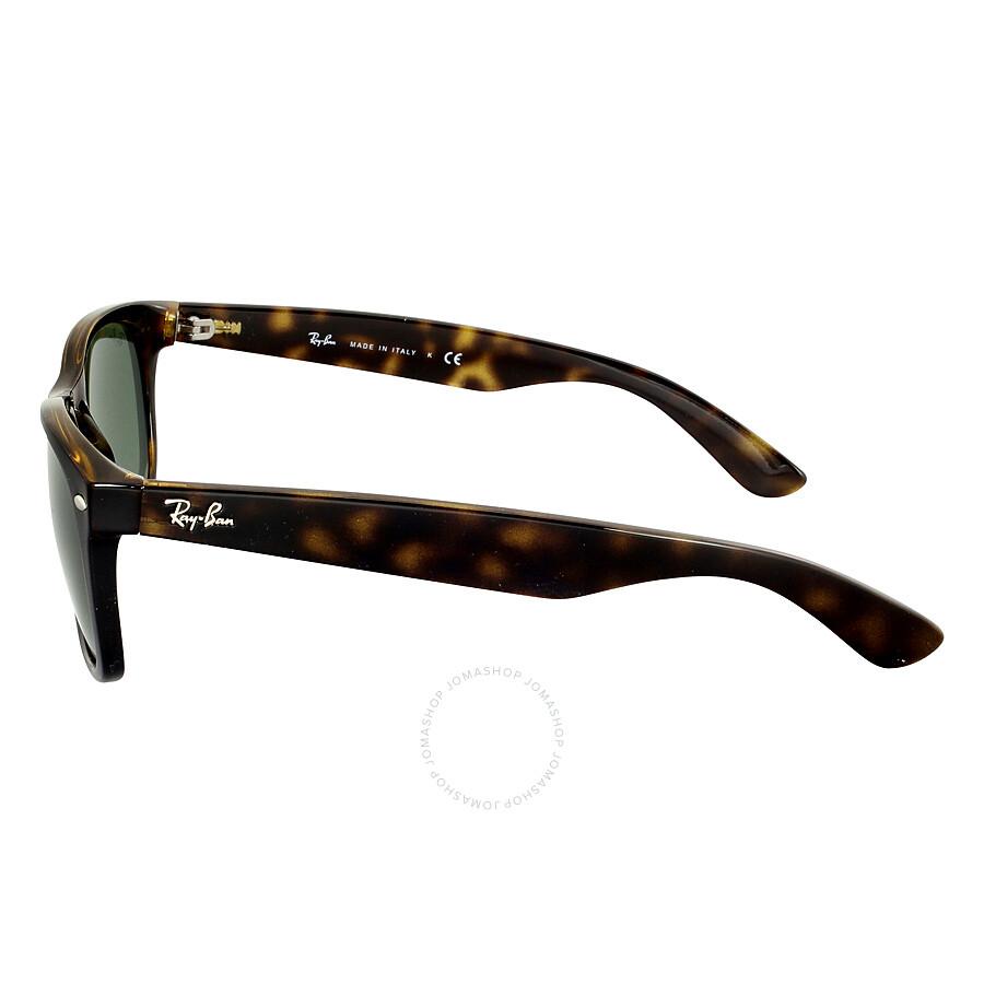 Ray-Ban New Wayfarer Classic Tortoise Frame Sunglasses RB213290258 ...
