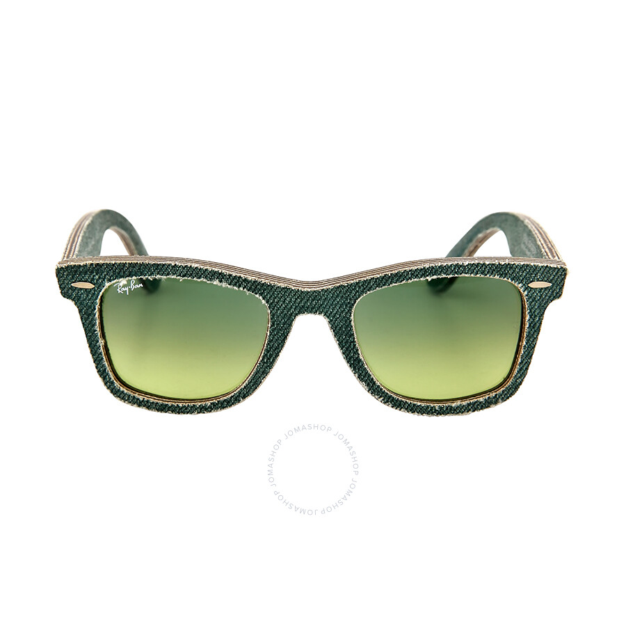 Ray-Ban Original Wayfarer Denim / Green Gradient Rb2140 11663m 50 iqn3c