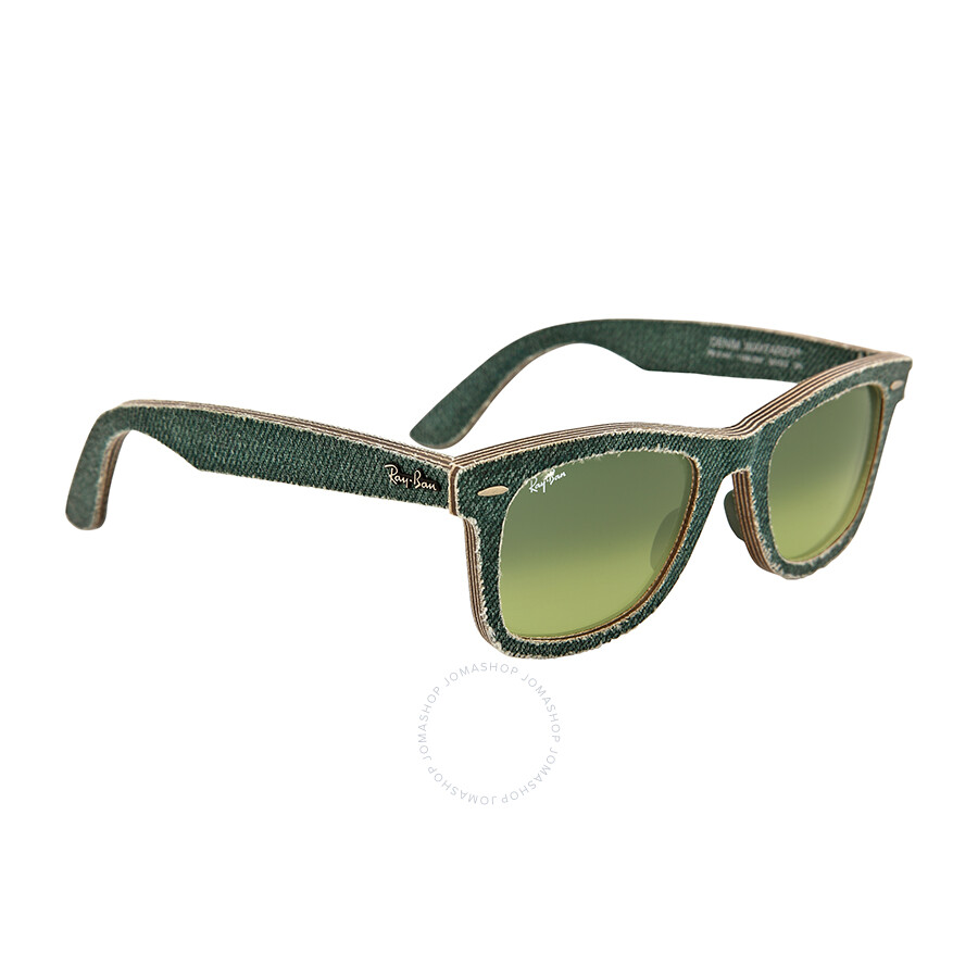 Ray-Ban Original Wayfarer Denim / Green Gradient Rb2140 11663m 50 nvUNpl
