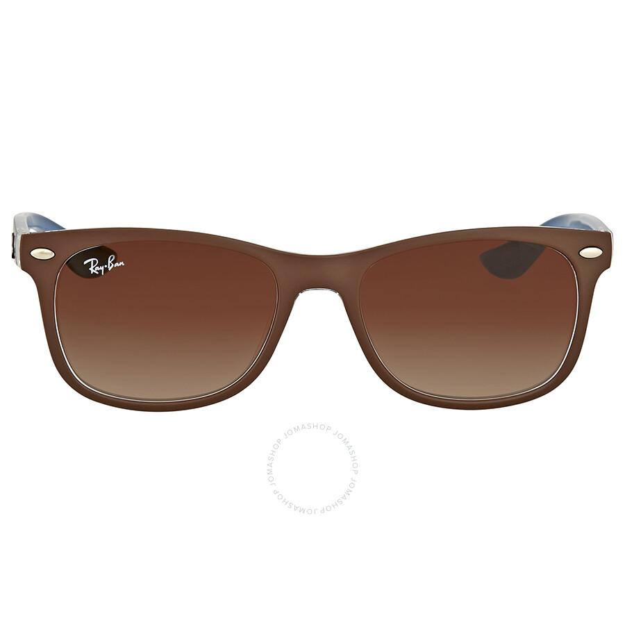 ... coupon code for ray ban new wayfarer junior brown gradient sunglasses  d10e4 485fd ... 8cc9c615e10f
