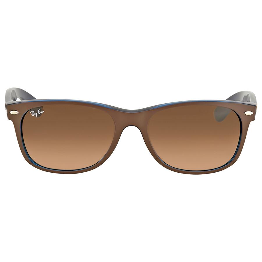 4d32ab1993b Ray Ban New Wayfarer Pink Brown Gradient Mens Sunglasses