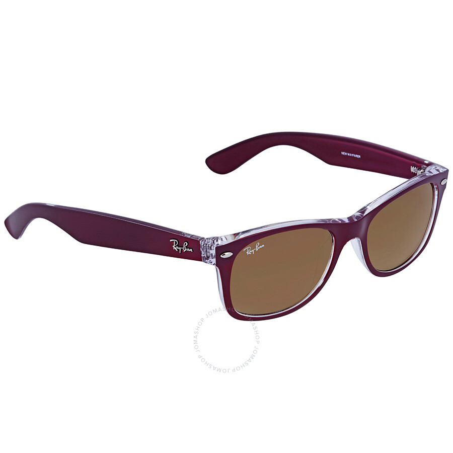 a26fa834a9 real ray ban new wayfarer red gradient lens 52mm sunglasses rb2132 605485  52 18 0b30c 57b2e