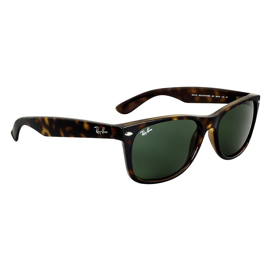 Rb2132 New Wayfarer 902 Tortoise Crystal Green 52/18 145 r1ytKvoCfw