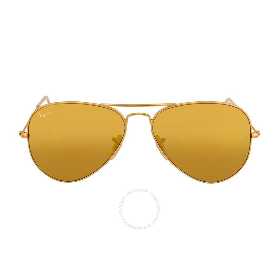 ray ban aviator yellow lenses