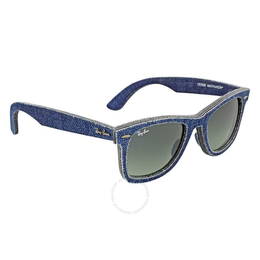 Ray-Ban Original Wayfarer Blue Denim Sunglasses RB2140 116371 50 ...