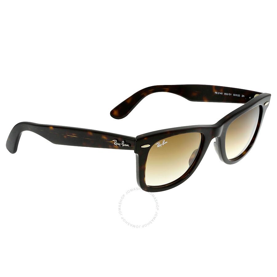 e5fced1a4cea9 ... new zealand ray ban original wayfarer classic light brown gradient lens tortoise  acetate sunglasses rb2140 902
