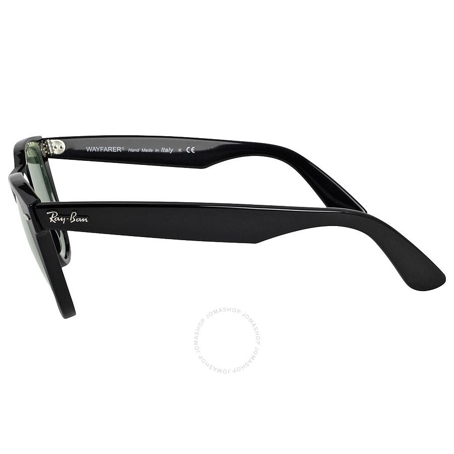 bf33629504 ... spain ray ban original wayfarer classics black green classic g 15  sunglasses rb2140901 54 d83e6 574f3
