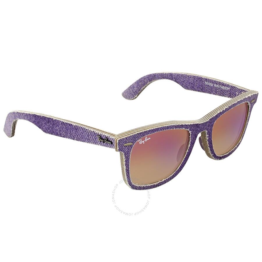 a28a90ce076 ... reduced ray ban original wayfarer denim violet gradient sunglasses  rb2140 1167s5 50 9bd13 34ea9