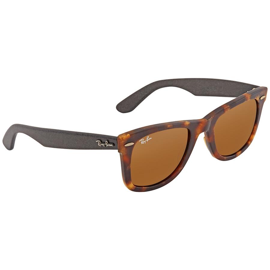 74ba4d609b1fc ... aliexpress ray ban original wayfarer distressed brown classic b 15  wayfarer sunglasses rb2140 1187 50 ea980