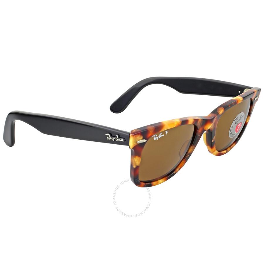 305d4332b2b93 ... brown 50mm 9e2af f2a29  australia ray ban original wayfarer fleck  polarized sunglasses 5a554 ddecc