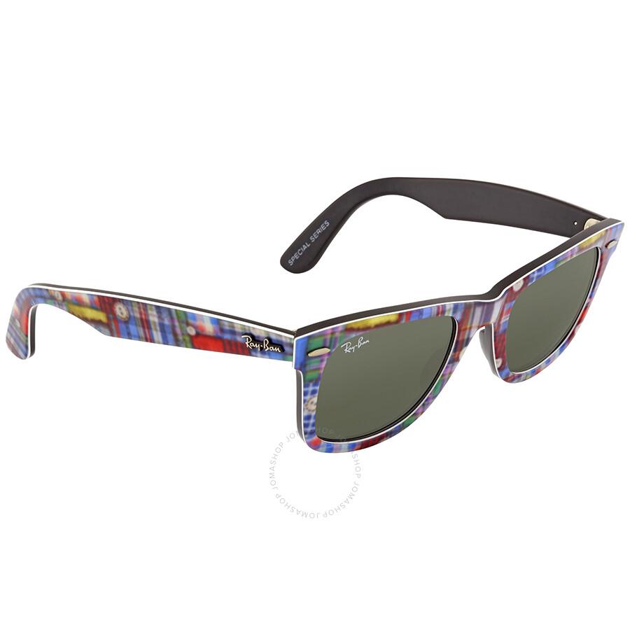 f48c49373 where can i buy ray ban original wayfarer green classic g 15 wayfarer  sunglasses rb2140 1135