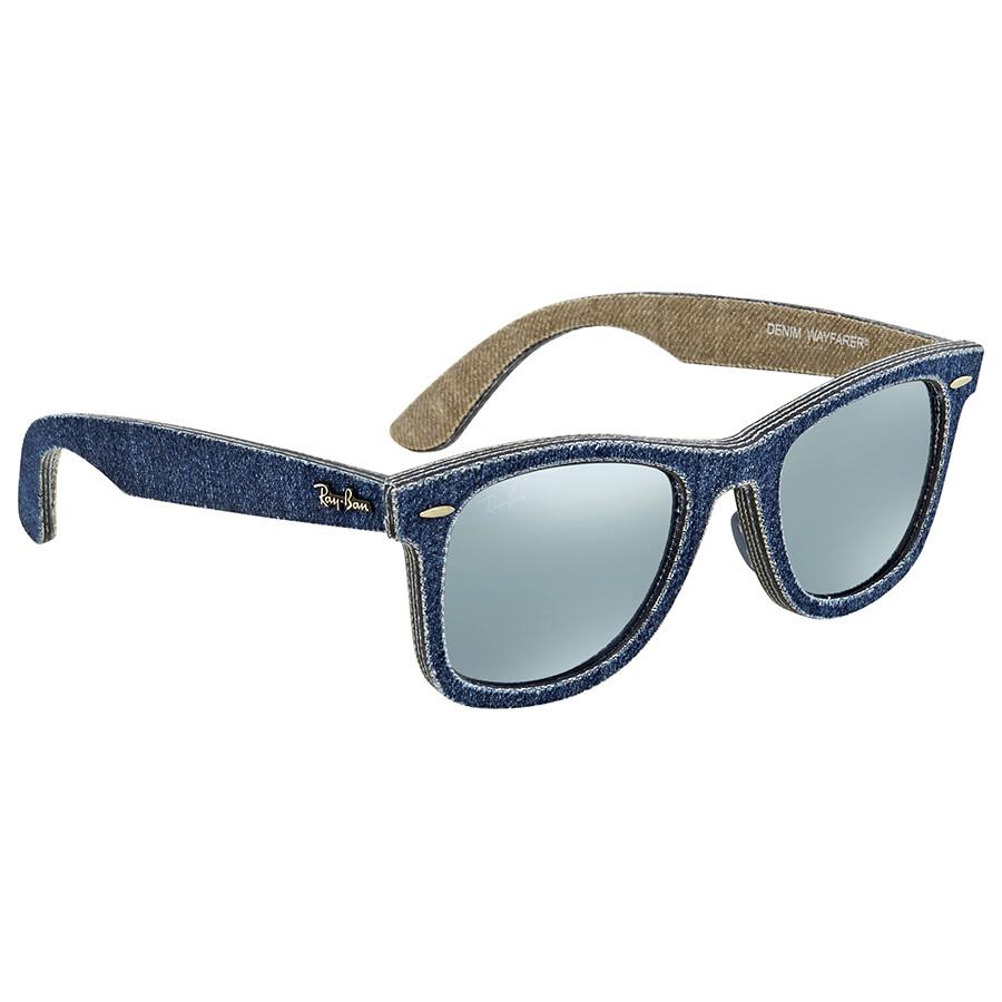 Ray-Ban RB2140 Sonnenbrille Jeans Blau 119430 50mm ZC6mvhUD